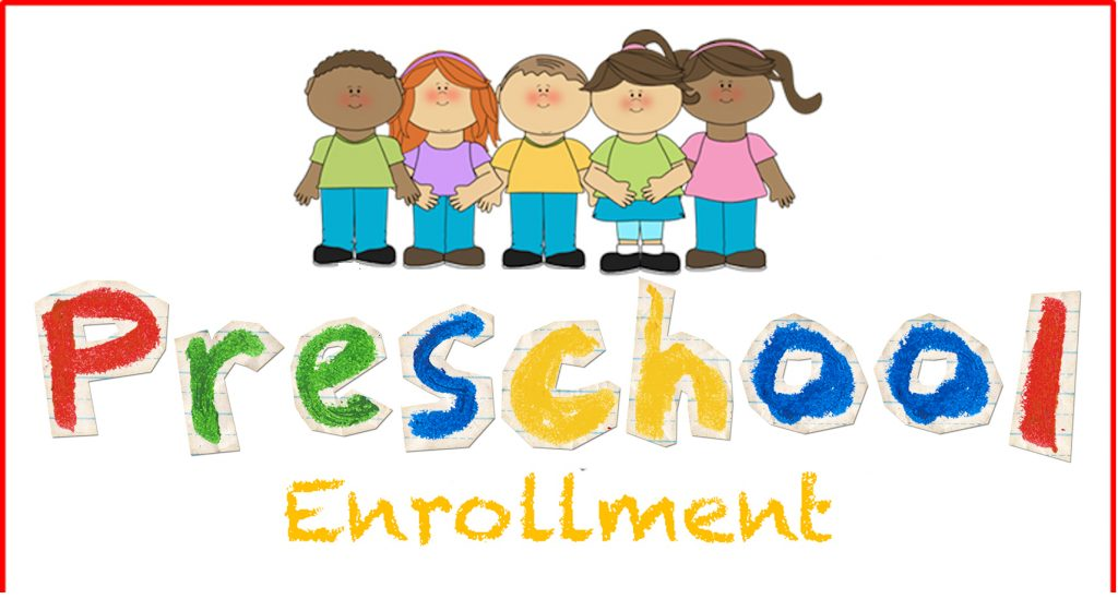 Image result for preschool enrollmant